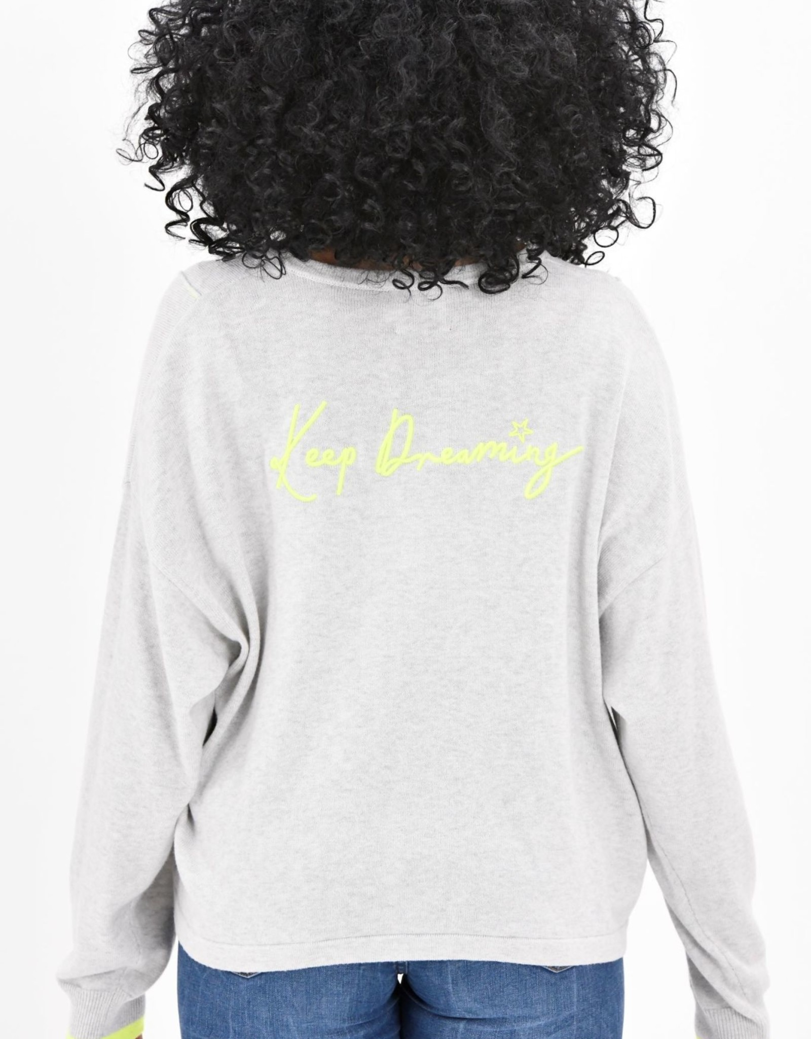 BRODIE Keep Dreaming Cashmere Top