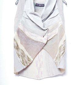 M. & KYOKO Collared Vest