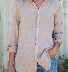 CP SHADES Romy Linen Button Down Top