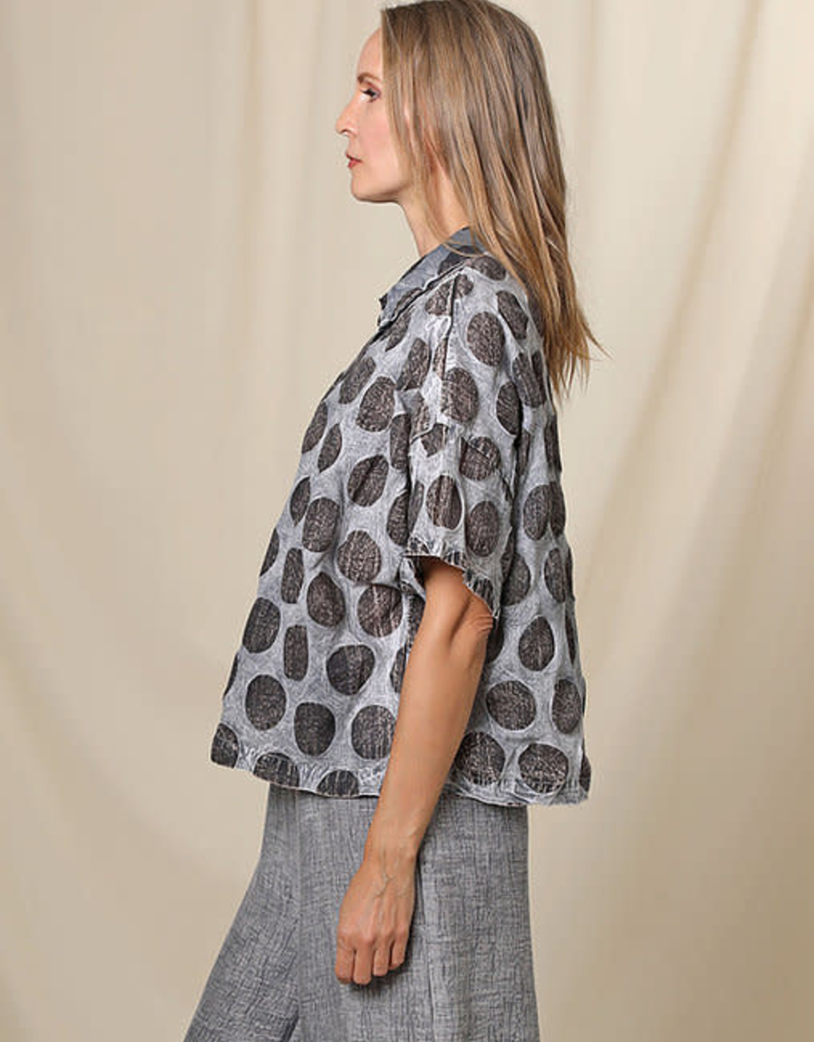 BEAU JOURS Nayeli Dotted Top