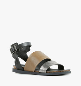 ALL BLACK Pompeii Sandal