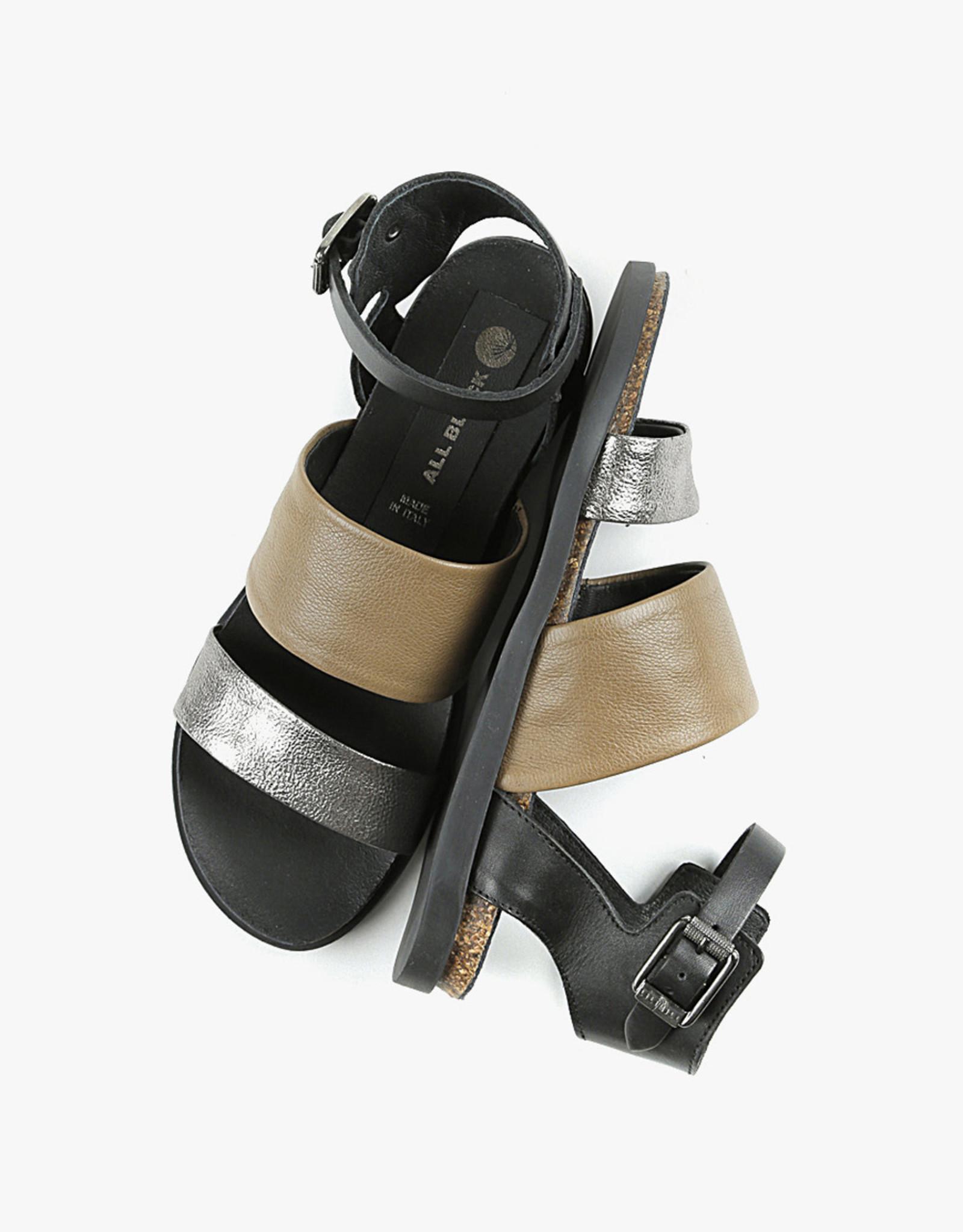 ALL BLACK Pompeii Sandal