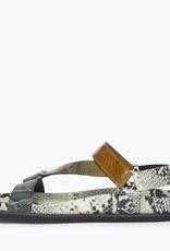 FREDA SALVADOR Adair Snake Print Sandal