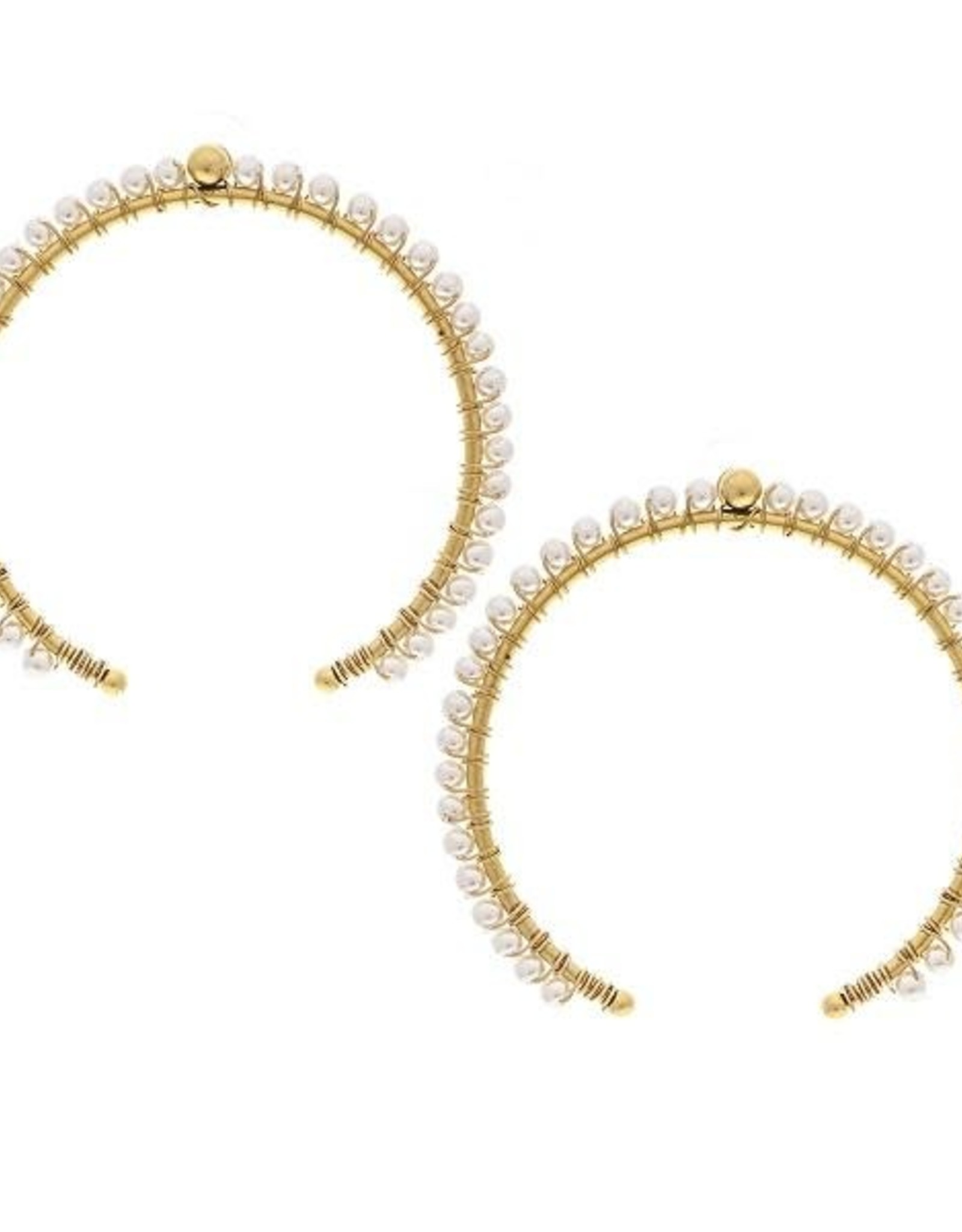 YOCHI NEW YORK Arch Earrings