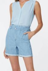 NYDJ Ruffle Waist Shorts