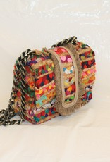 BELIER BELIER Small Greta Jute Handbag
