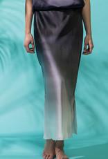 GO SILK Gradient Print Skirt