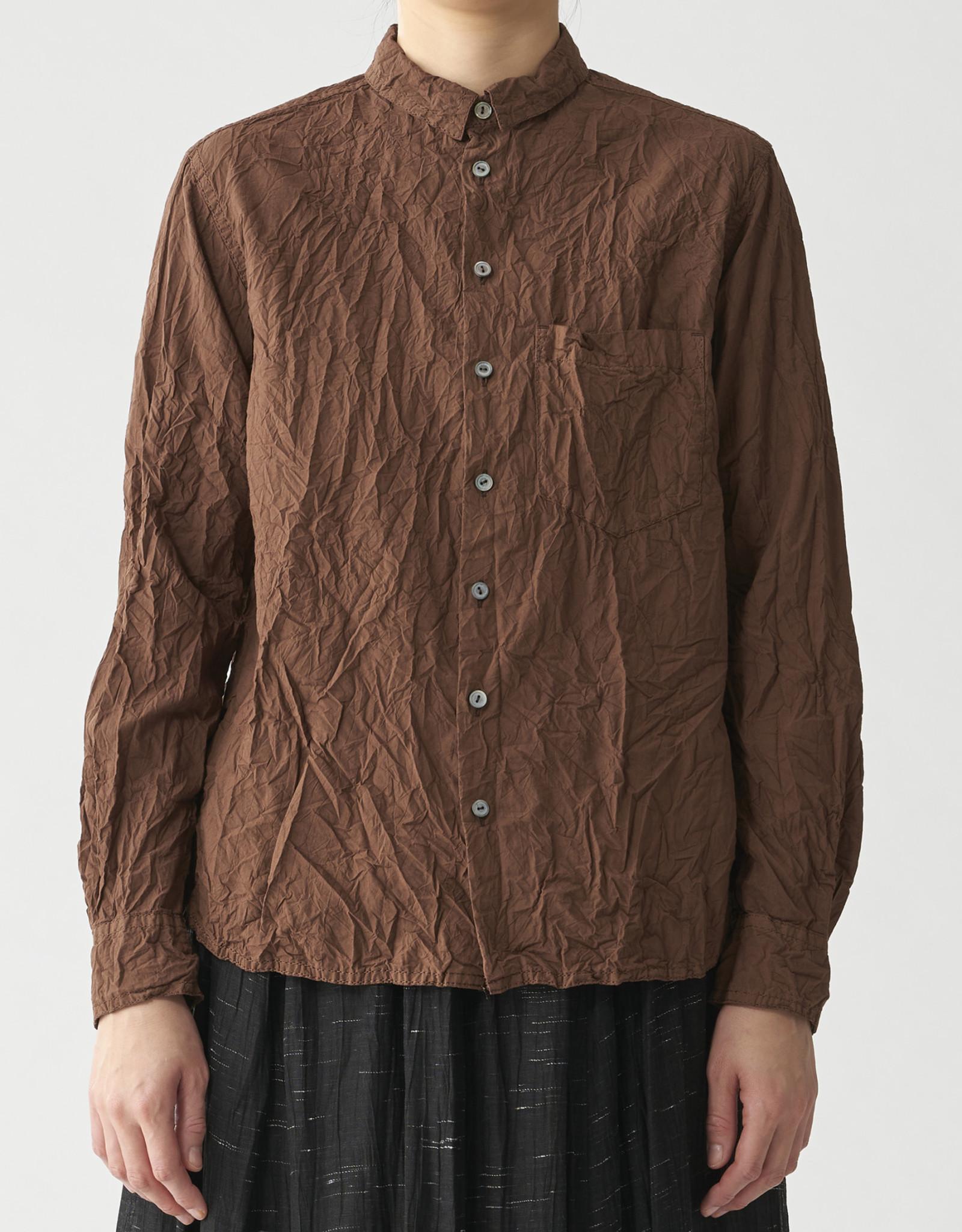 PAS DE CALAIS Crinkle Cotton Shirt