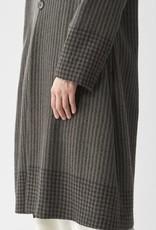 PAS DE CALAIS Stripe Wool Coat