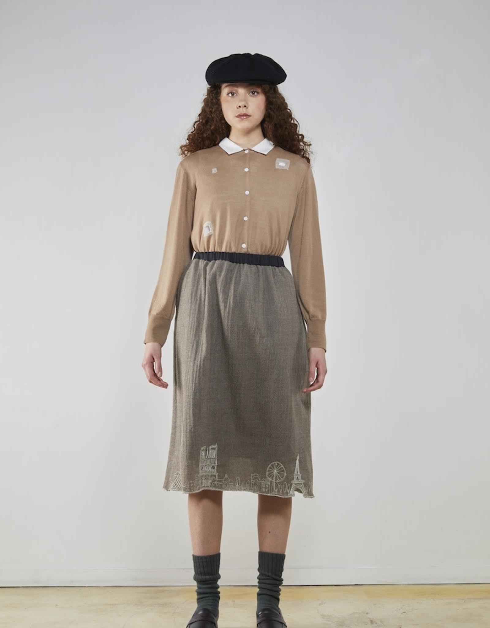 YOSHI KONDO Arc Paris Skirt