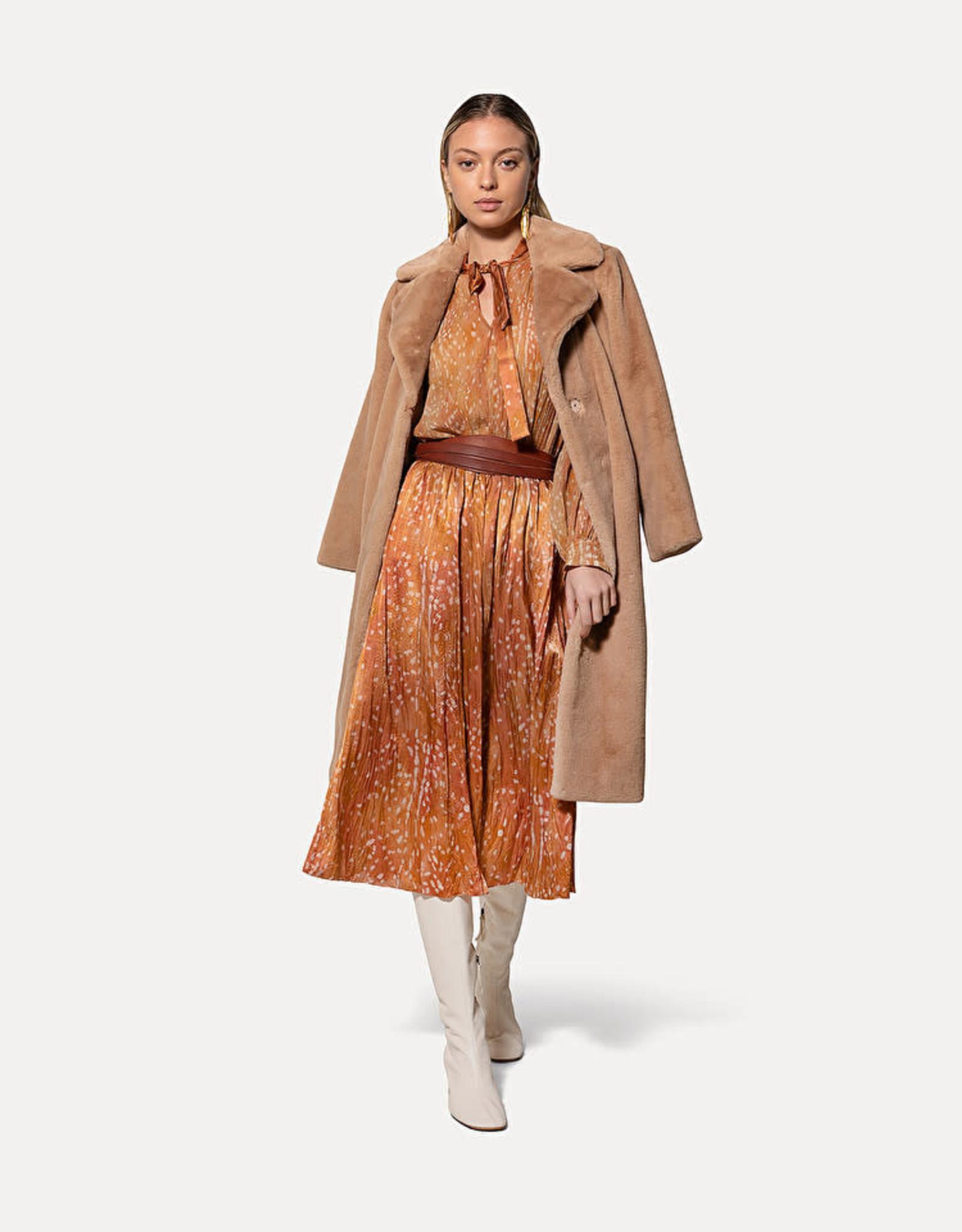 FORTE FORTE Eco Fur Coat