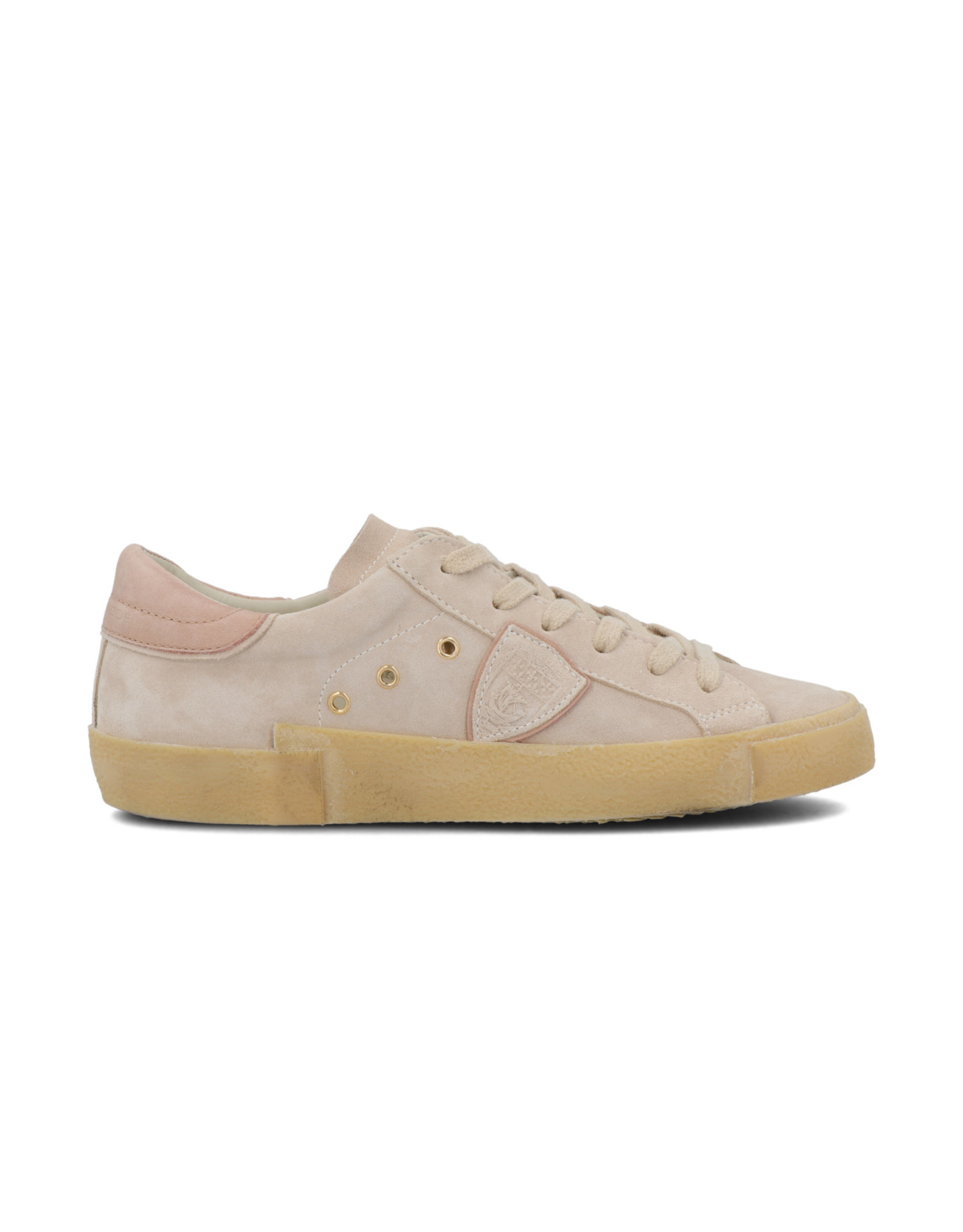 PHILIPPE MODEL Vintage Daim Sneaker