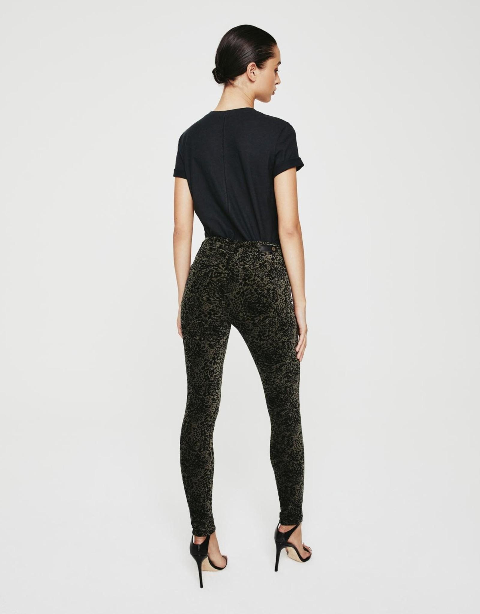 ADRIANO GOLDSCHMIED Velvet Farrah Skinny Ankle Pant