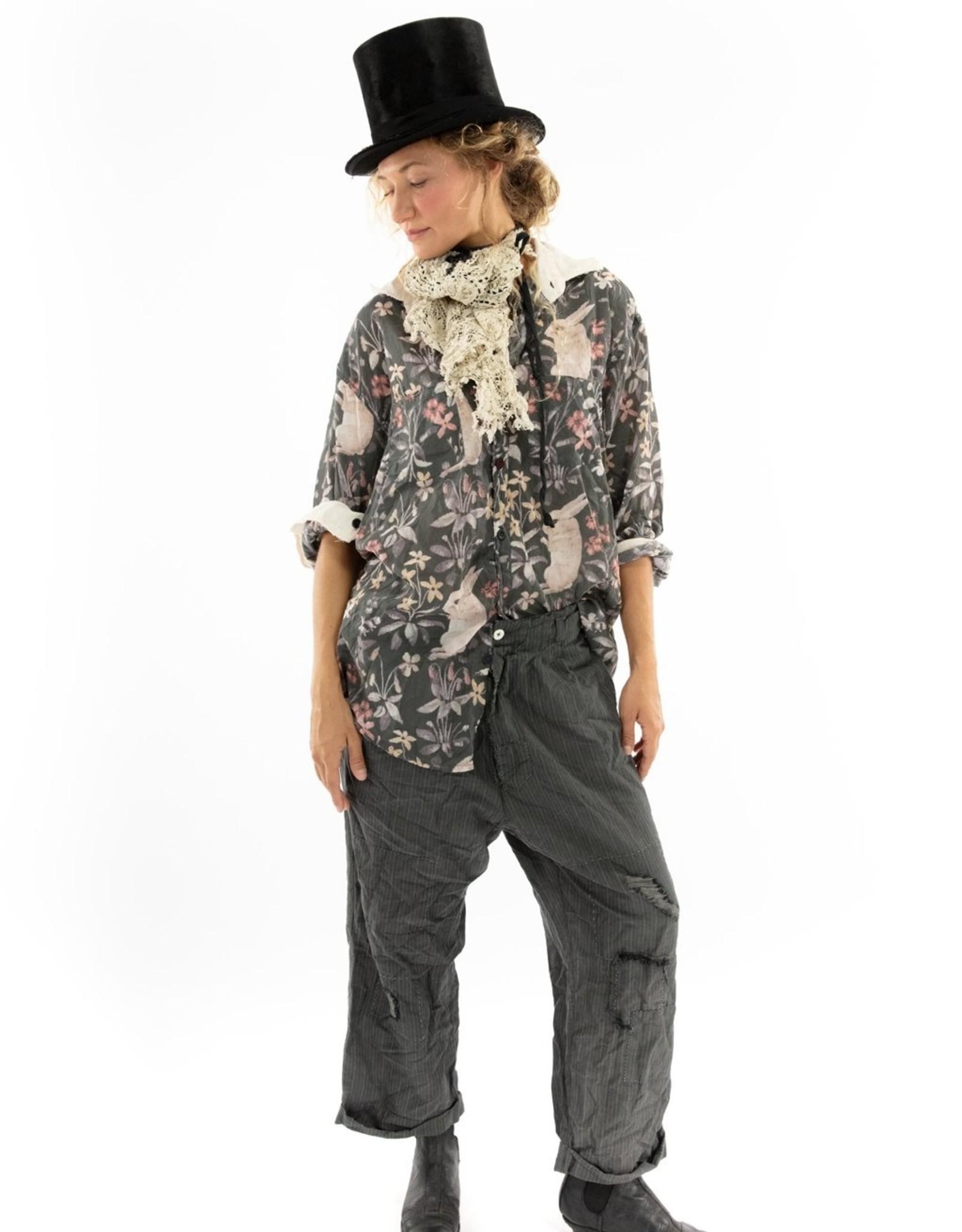 MAGNOLIA PEARL Printed Boyfriend Shirt