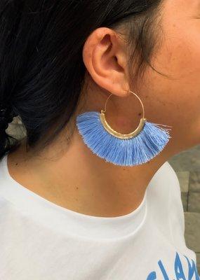 Fringe earring