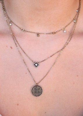 Megan Medallion Necklace