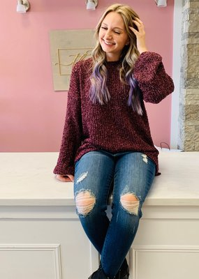 Perfect Plum Sweater