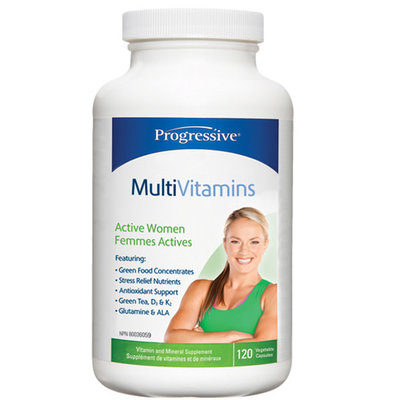 Progressive Progressive MultiVitamins Active Women