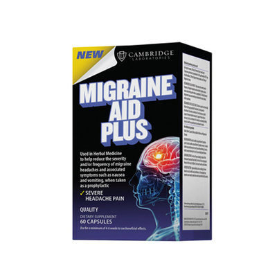 Cambridge Laboratories Migraine Aid Plus