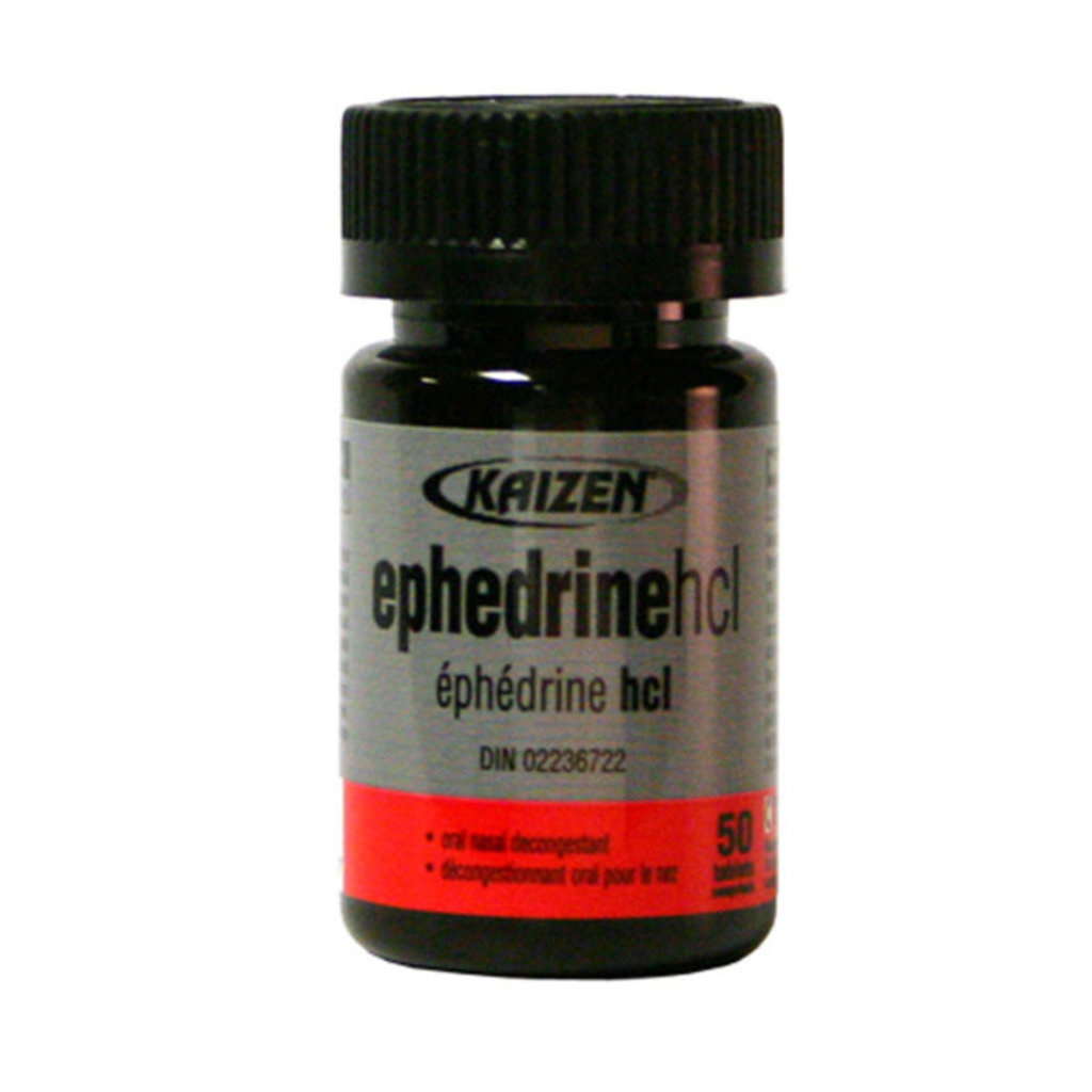 Kaizen Naturals Kaizen Ephedrine HCL Bottle