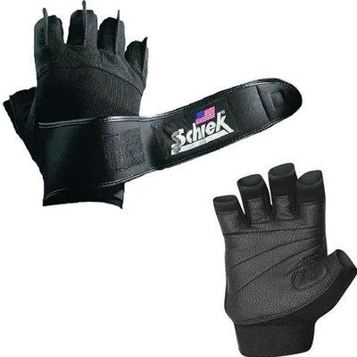 Schiek Schiek Lifting Gloves Power Series with Wrist Wraps