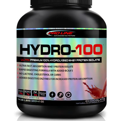 Proline Advanced Nutrition Pro Line Hydro-100 Whey Protein Isolate