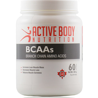 Active Body Lifestyle Supplements Active Body BCAA's