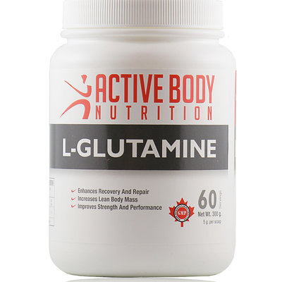 Active Body Lifestyle Supplements Active Body L-Glutamine