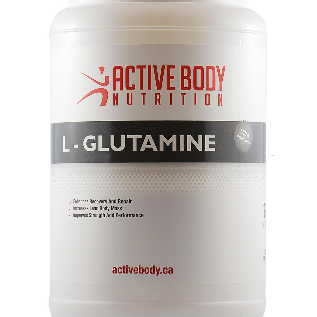 Active Body Lifestyle Supplements Active Body L-Glutamine