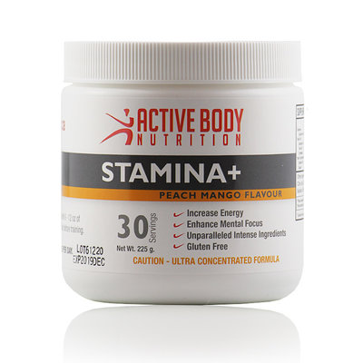 Active Body Lifestyle Supplements Active Body Stamina+