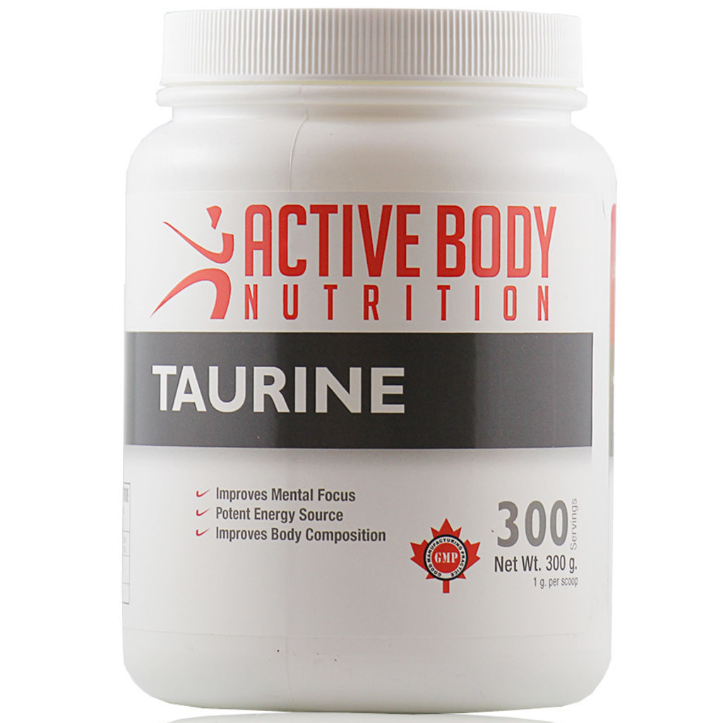 Active Body Lifestyle Supplements Active Body Taurine