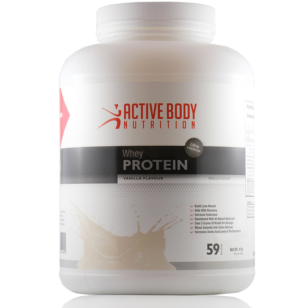 Active Body Lifestyle Supplements Active Body Whey Protein