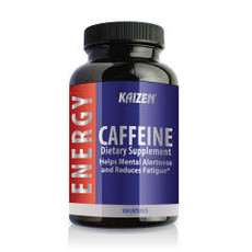 Kaizen Naturals Kaizen Caffeine Bottle