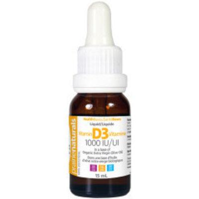 Prairie Naturals Prairie Naturals Liquid Vitamin D3 15 mL