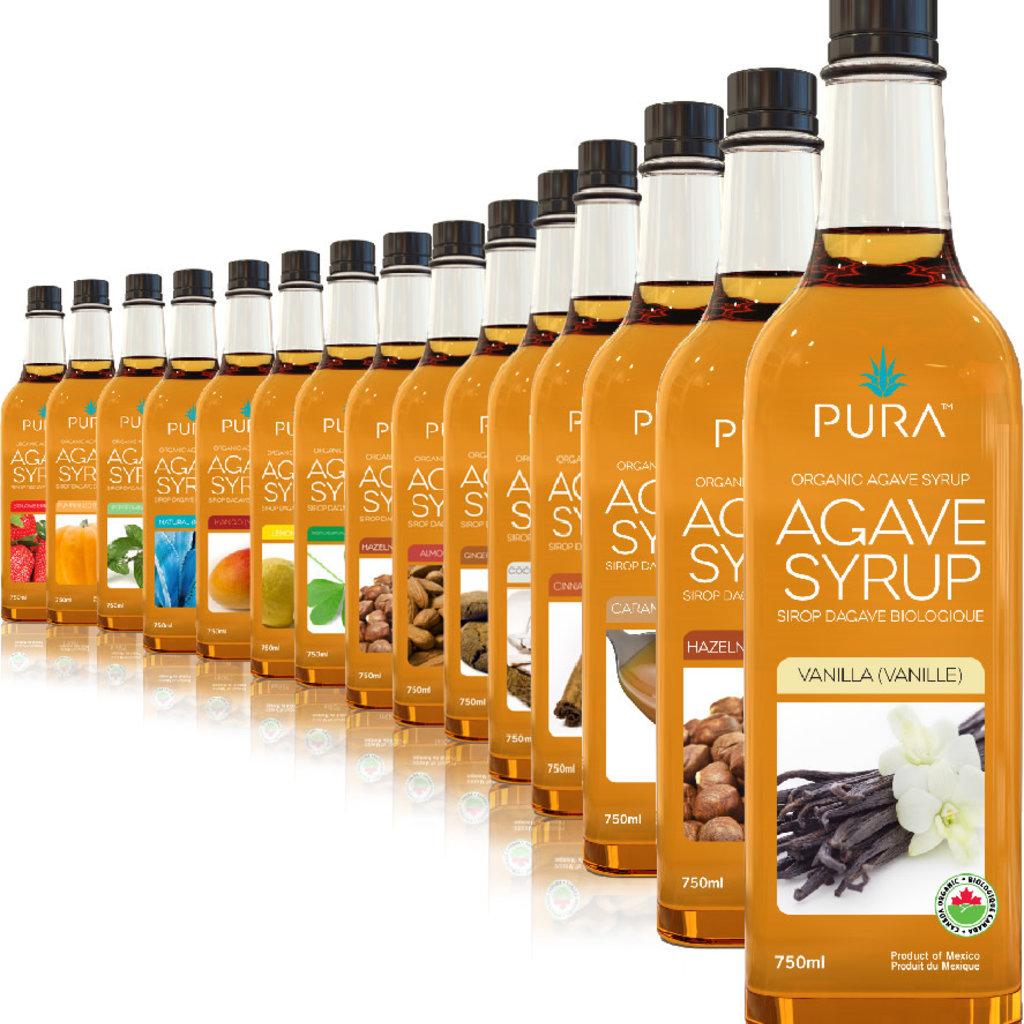 PURA PURA Raw Organic Agave Syrup