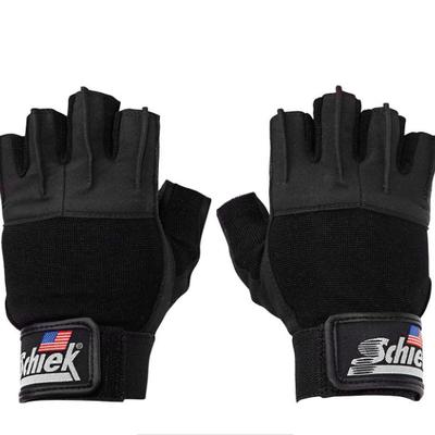 Schiek Schiek Lifting Gloves Platinum Series with Wrist Wraps