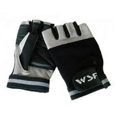 World Standard Fitness WSF Grip Tech High Traction Exercise/Lifting Gloves