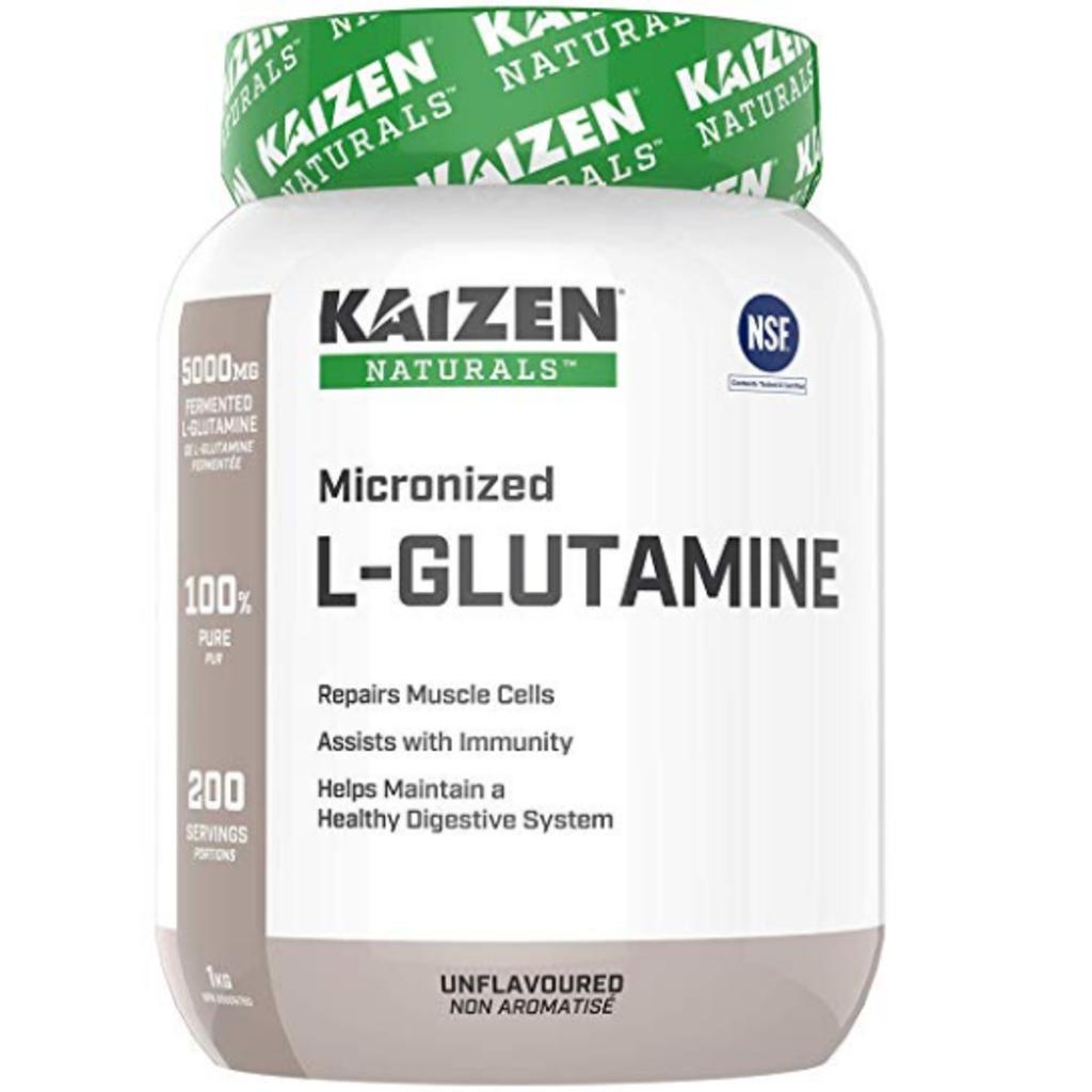 Kaizen Naturals Kaizen Naturals Micronized L-Glutamine