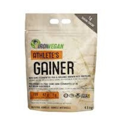 Iron Vegan Iron Vegan Athletes Gainer
