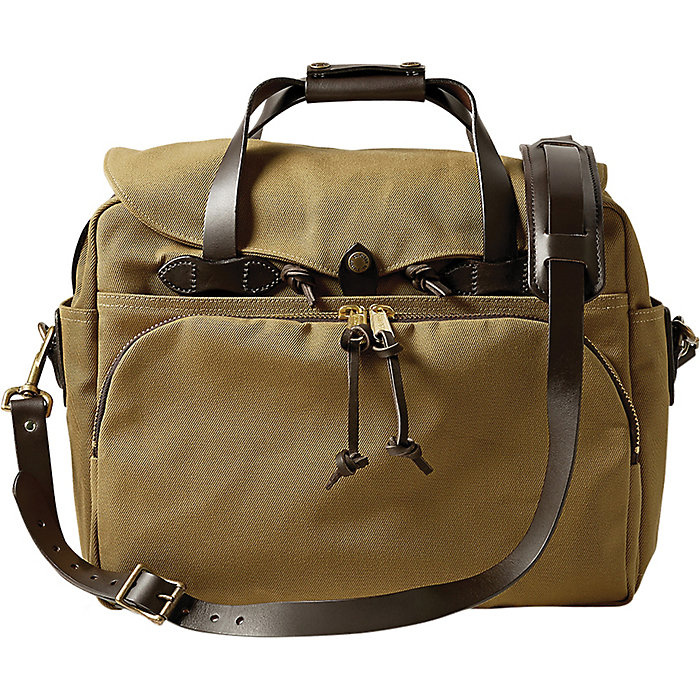 FILSON Padded Computer Bag Dark Tan One Size Standard