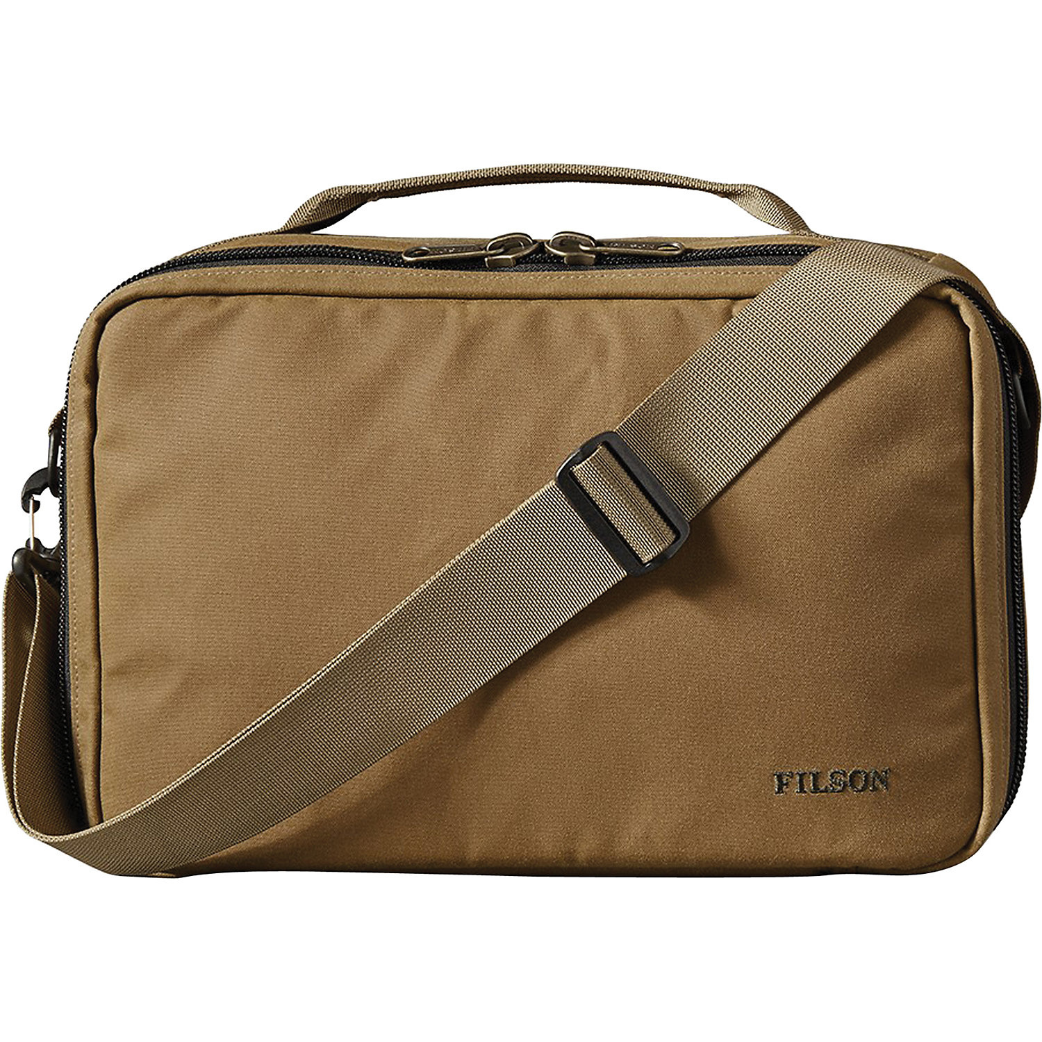 FILSON Reel Case Dark Tan One Size 1st Quality Standard
