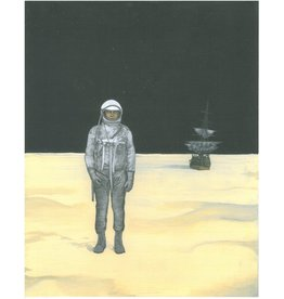 Charles Smith print MAN ON MOON