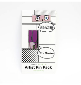 Artist Enamel Pin Pack (Valerie Tribble and Terri Bowden)