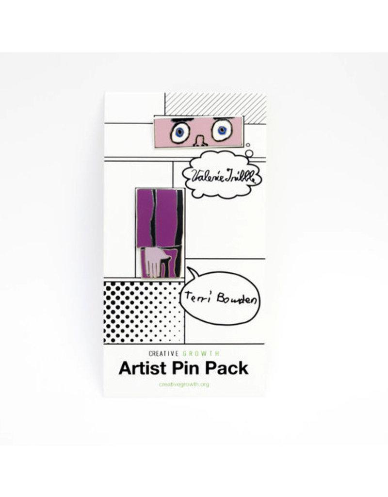 Artist Enamel Pin Pack (Valerie Tribble and Terri Bowden)