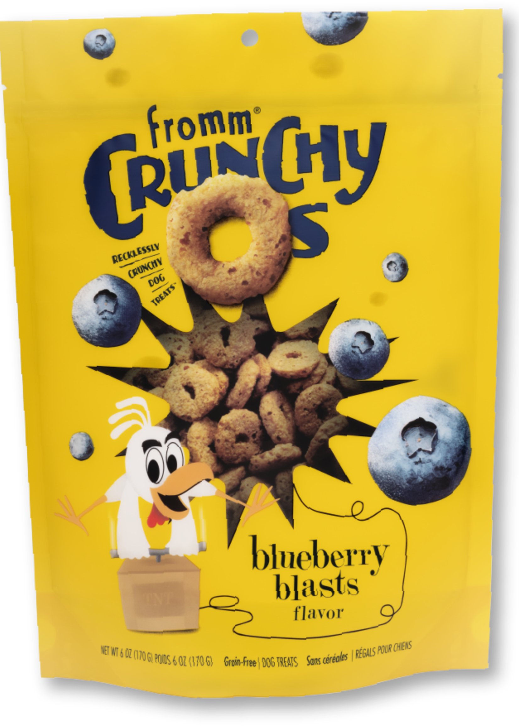 Fromm® Fromm Crunchy Os Blueberry Blasts 6oz