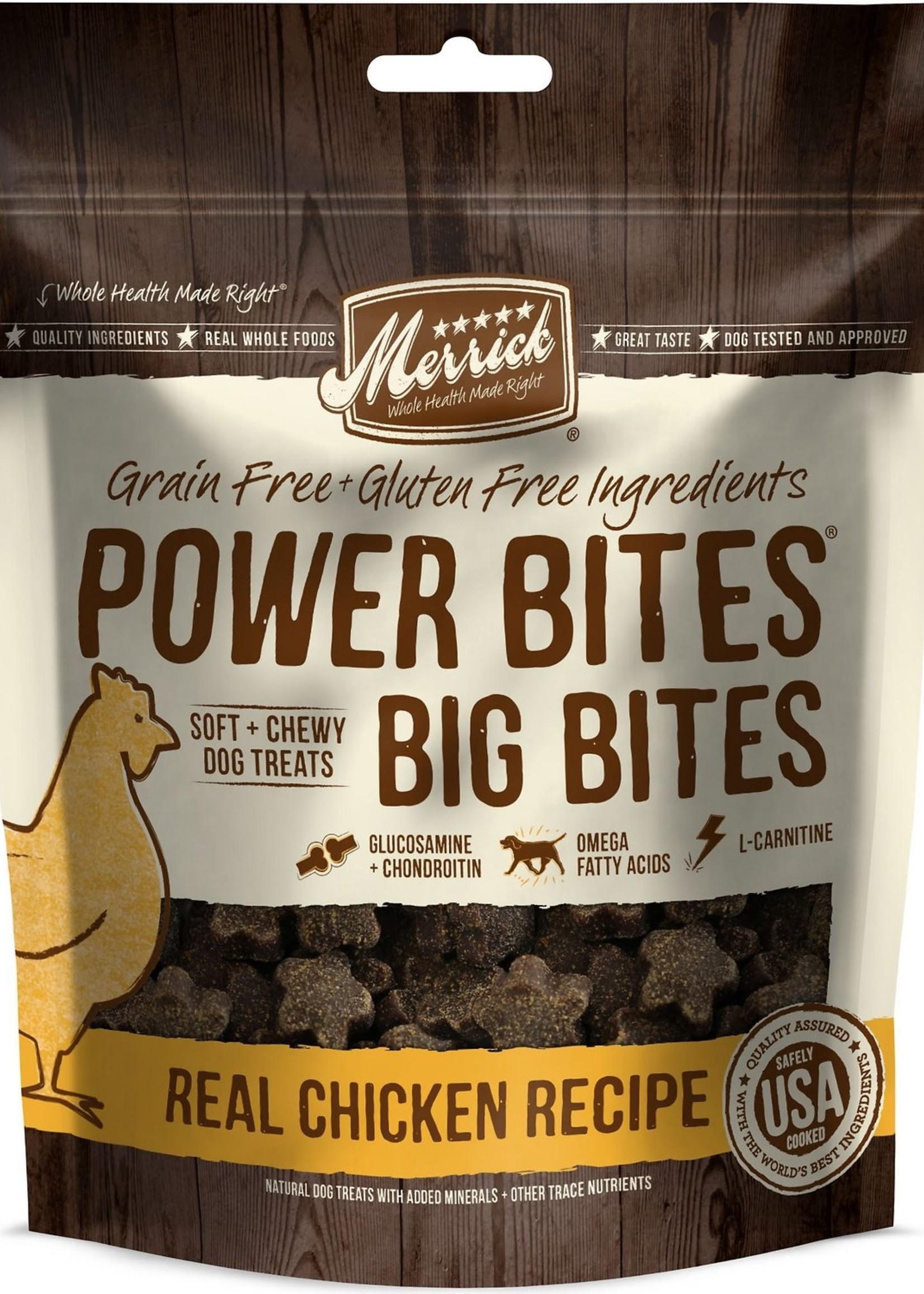 Merrick® Merrick Power Bites® Big Bites Real Chicken Recipe 6oz