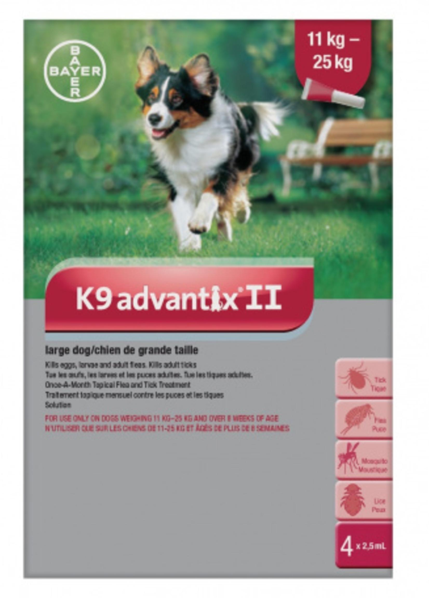 Bayer K9 Advantix® II - Large Dog