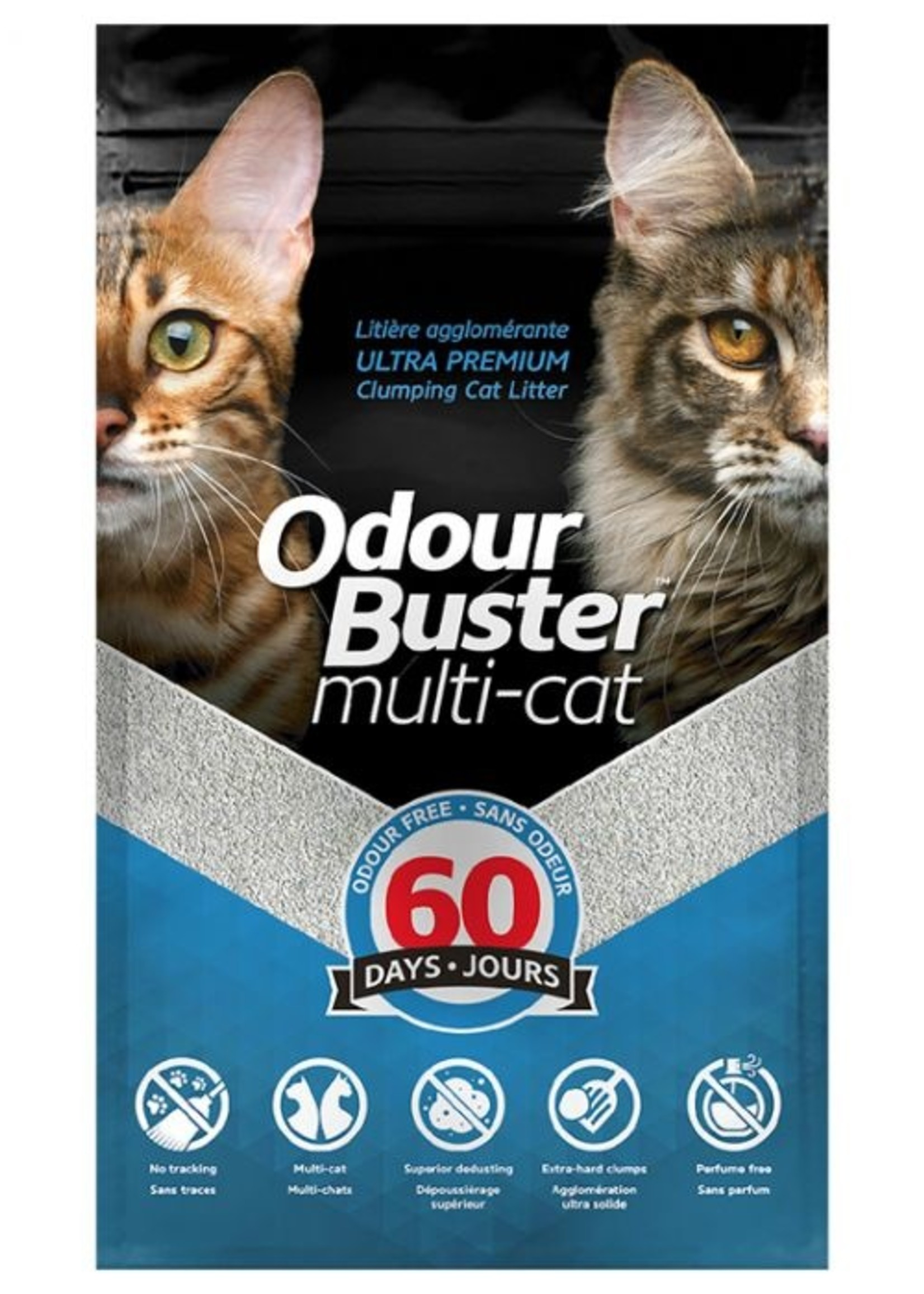 Eco-Solutions Inc© Odour Buster™  Multi-Cat 26.5lbs