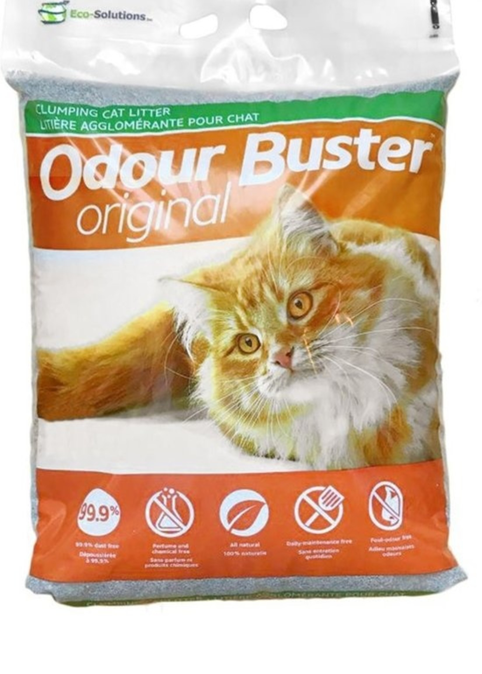 Eco-Solutions Inc© ECO-SOLUTIONS ODOUR BUSTER CAT LITTER 31lbs