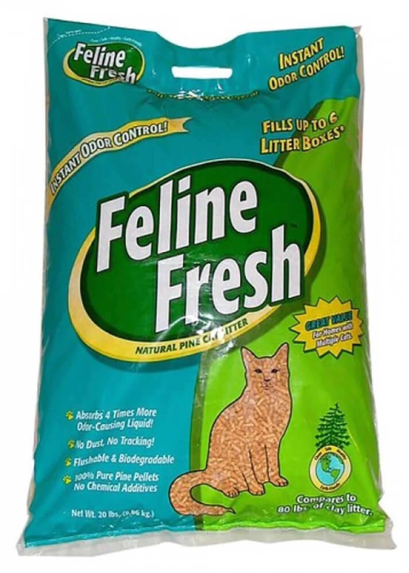 Feline Fresh® Pellet Pine Litter 20lbs